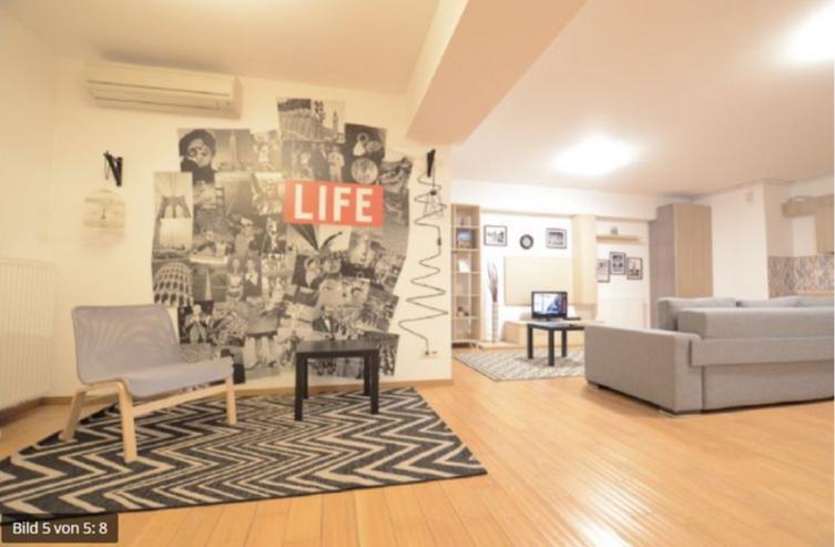 Bild 3: aufkirchen 1,5-Zimmer-Wohnung im 1. Obergeschoss mit Möbel