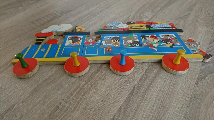 Holzgadarobe Lokomotive