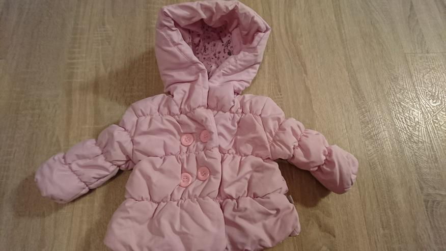 Winterjacke für Babys - Rosa - Gr. 74