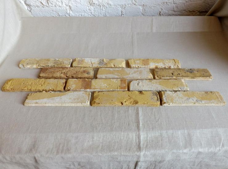Bild 2: Antikriemchen Steinriemchen wiederverwendeter Mauerstein ökologische Ziegelriemchen Wandpanele Wandgestaltung Wandfliese