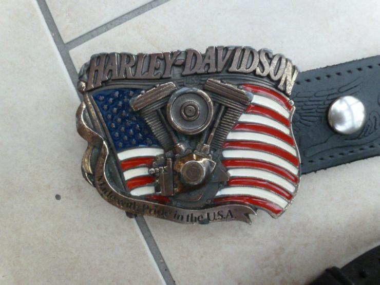 Ledergürtel von Harley