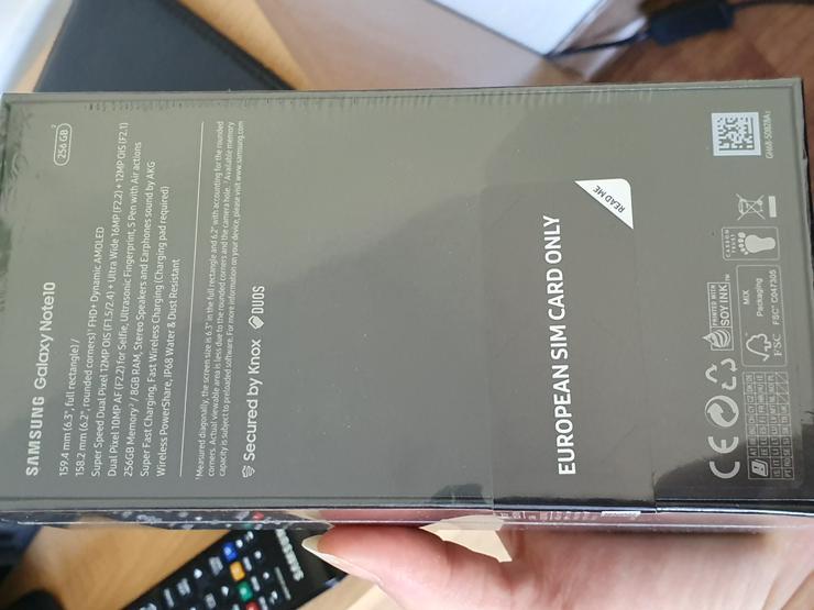 Samsung Galaxy Note 10 -Neu-