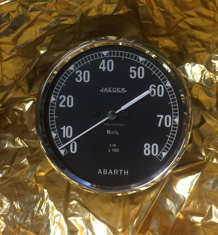 drehzahlmesser  elektr.    ABARTH 850 TC