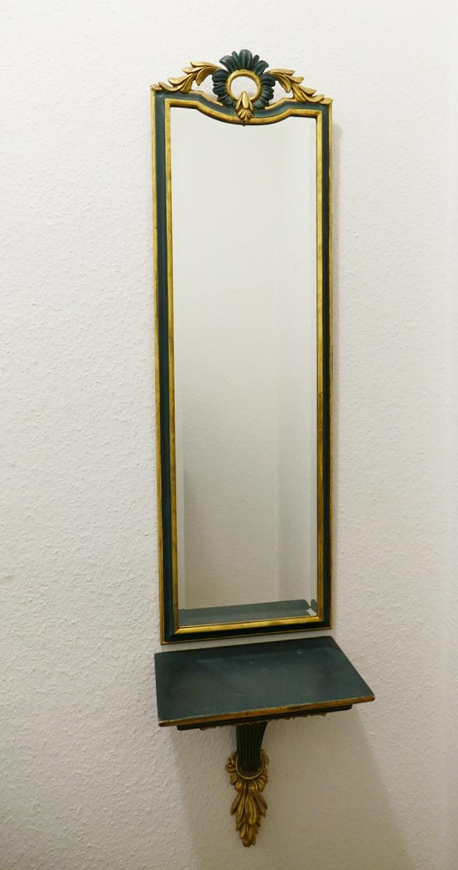 Wandspiegel + passender Wandregal