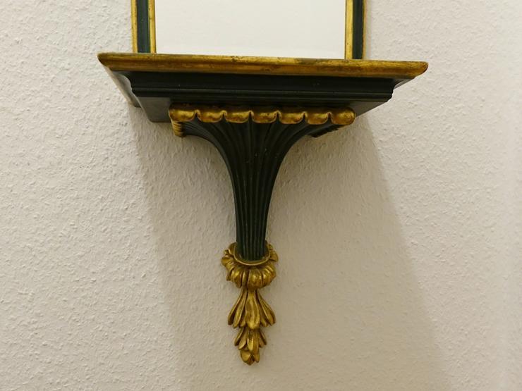 Bild 4: Wandspiegel + passender Wandregal