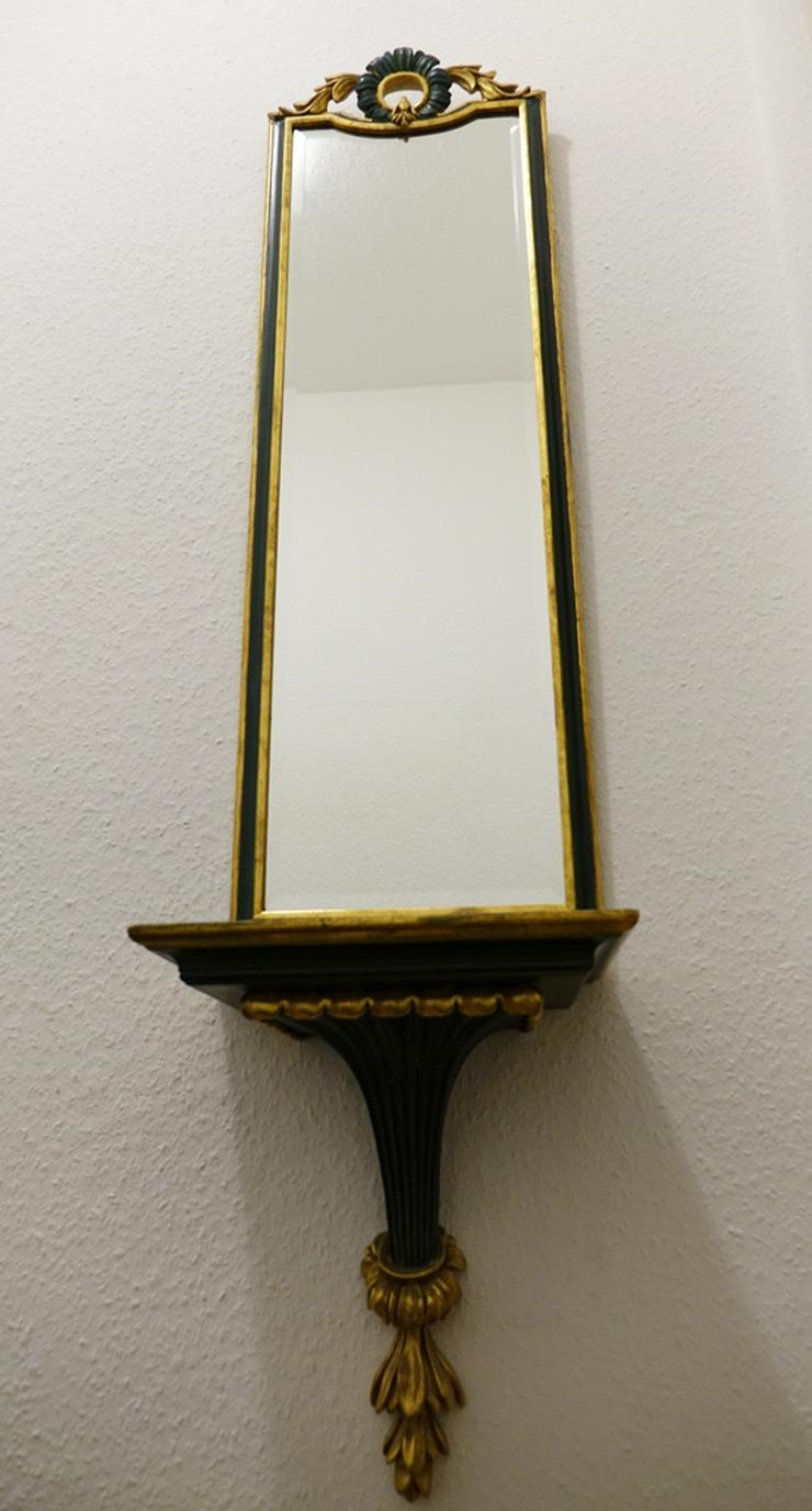 Bild 2: Wandspiegel + passender Wandregal