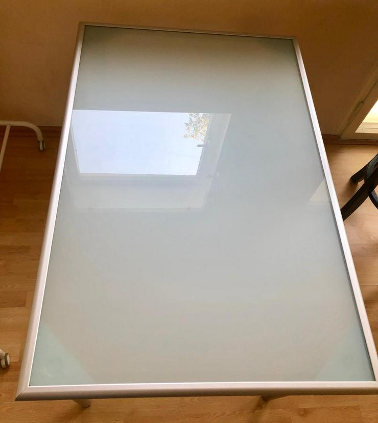 Esstisch (Glas) Ikea (BTH 117 x 78 x 74) - Esstische - Bild 1