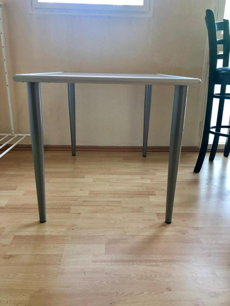 Bild 2: Esstisch (Glas) Ikea (BTH 117 x 78 x 74)