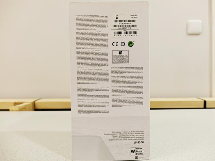 Bild 5: Sony LF-S50G kabelloser Lautsprecher mit integr. Assistent