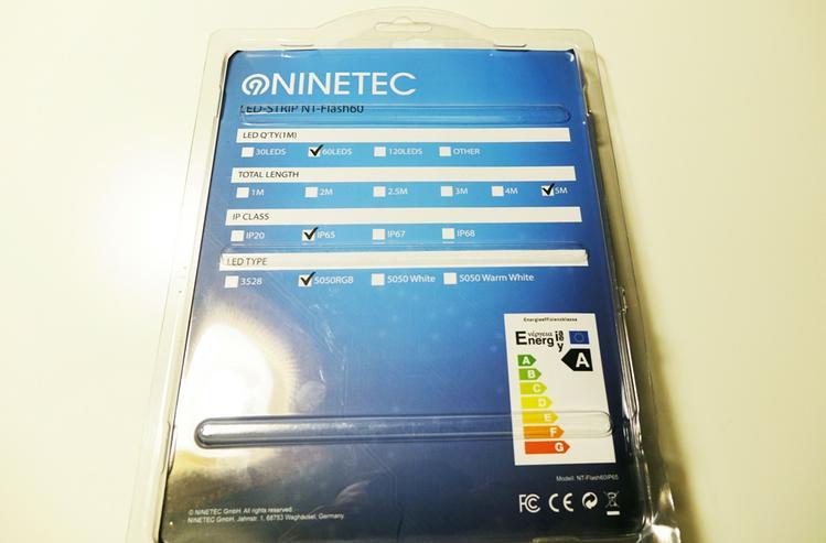 Bild 2: NINETEC LED-STRIP NT-FLASH60 MIT FERNBEDIENUNG (3 STUCK)