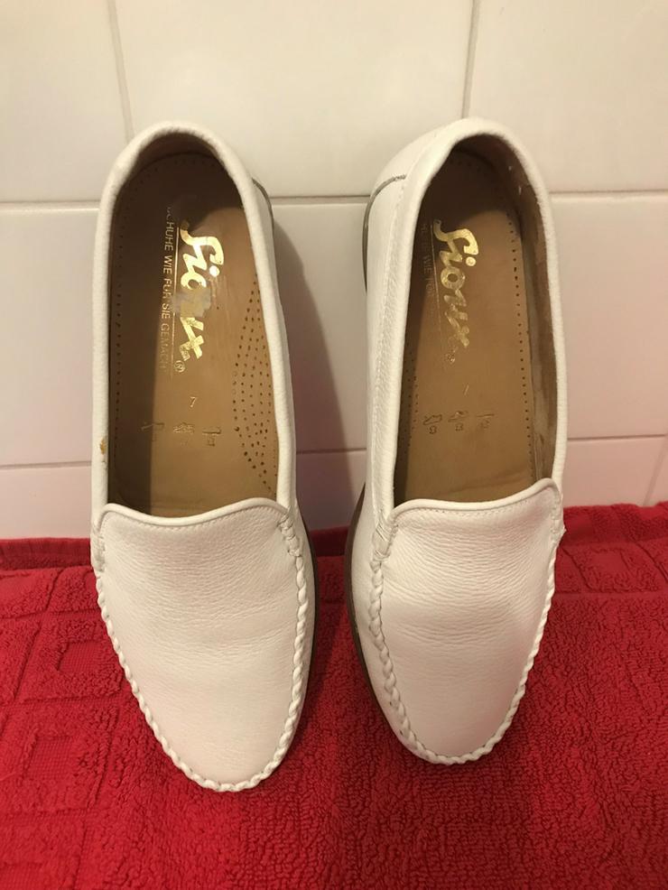 Schuhe Mokassin von Sioux - Größe 41 - Bild 1