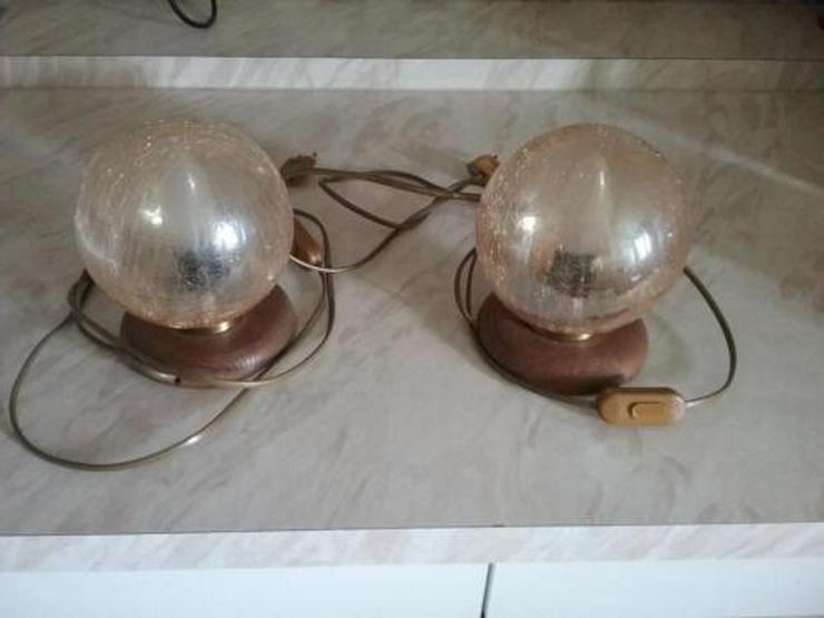 2 Nachttischlampen - Bild 1