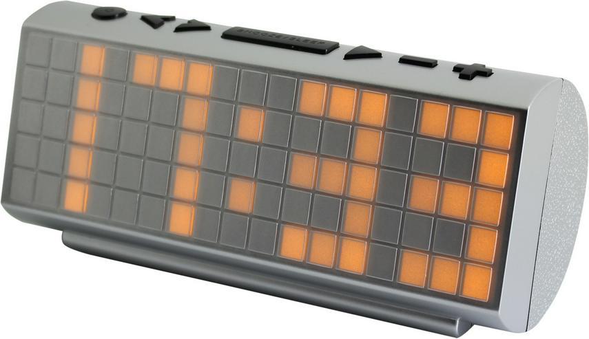 Soundmaster UR200SI Radiowecker Jumbo UKW-PLL, silber