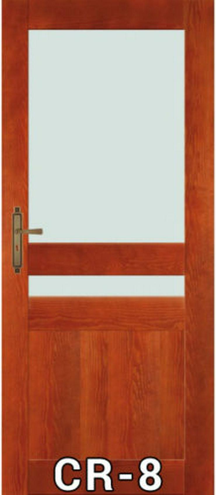 Bild 4: Wohnzimmertür Stolgen mit Klinke Zarge 60-90 lackiert CR-6/7/8/9/10 Innentür
