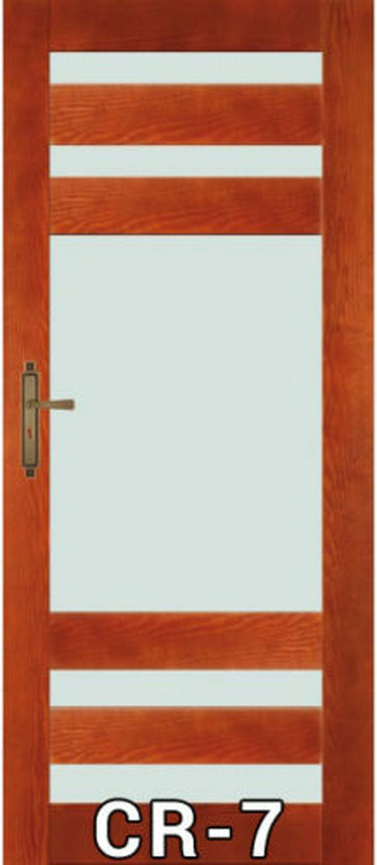 Bild 3: Wohnzimmertür Stolgen mit Klinke Zarge 60-90 lackiert CR-6/7/8/9/10 Innentür