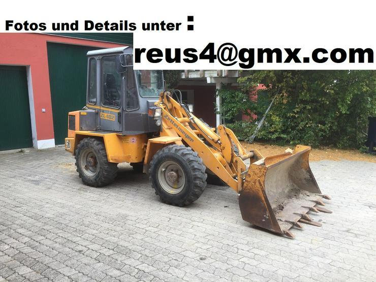 Radlader Zettelmeyer ZL 402 - Radlader & Raupen - Bild 1