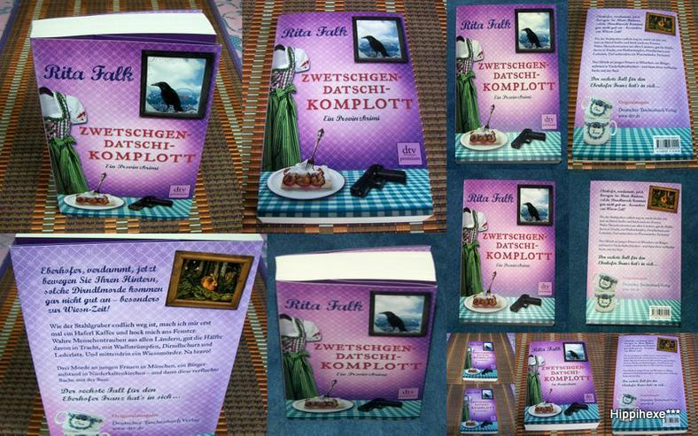 Biete hier ein neues ungelesenes Buch von Rita Falk* Zwetschgendatschikomplott*