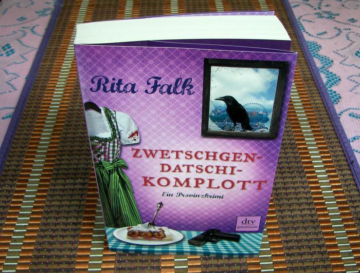 Bild 3: Biete hier ein neues ungelesenes Buch von Rita Falk Titel des Buches * Zwetschgendatschikomplott *