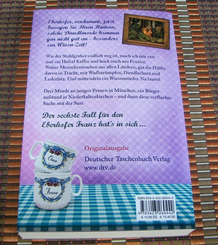 Bild 4: Biete hier ein neues ungelesenes Buch von Rita Falk Titel des Buches * Zwetschgendatschikomplott *