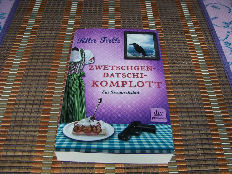 Bild 7: Biete hier ein neues ungelesenes Buch von Rita Falk Titel des Buches * Zwetschgendatschikomplott *