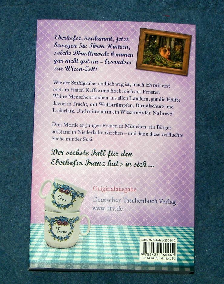 Bild 8: Biete hier ein neues ungelesenes Buch von Rita Falk Titel des Buches * Zwetschgendatschikomplott *