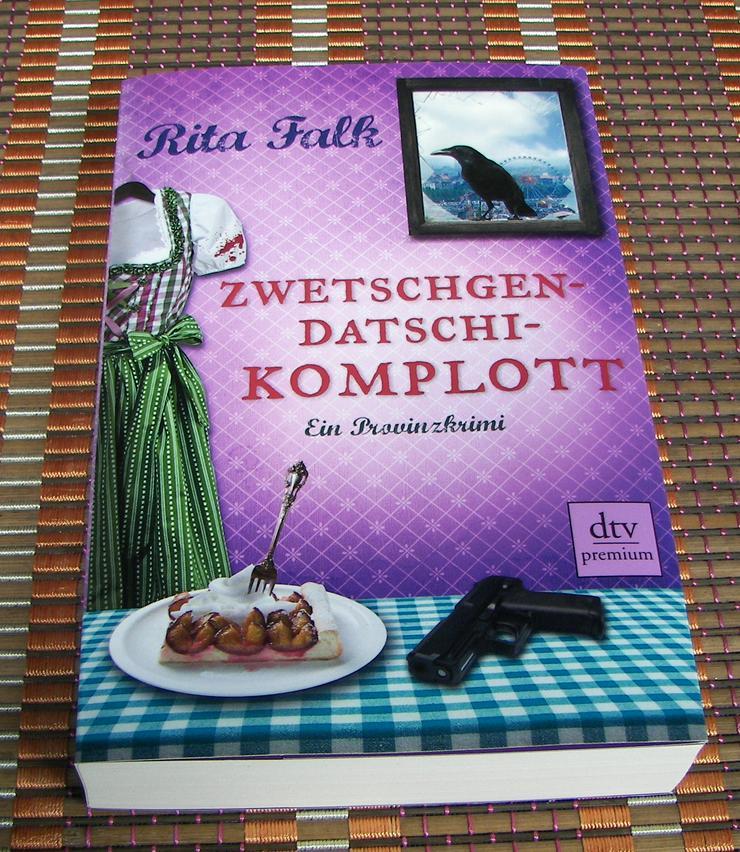 Biete hier ein neues ungelesenes Buch von Rita Falk Titel des Buches * Zwetschgendatschikomplott *