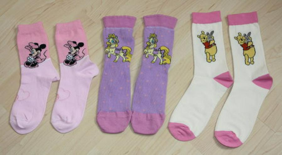 3x Disney Kinder Strümpfe Mädchen Socken 35-38 NEU