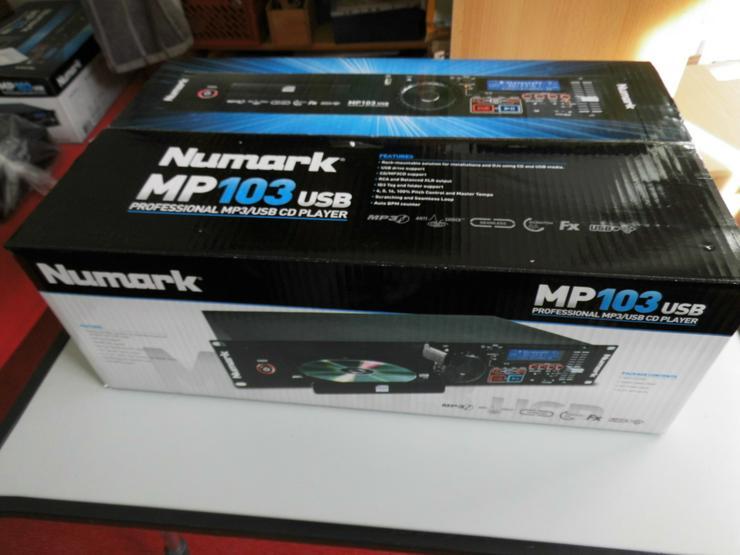MP102 Professional MP3 CD Player mit Anti Shock System - Bild 1