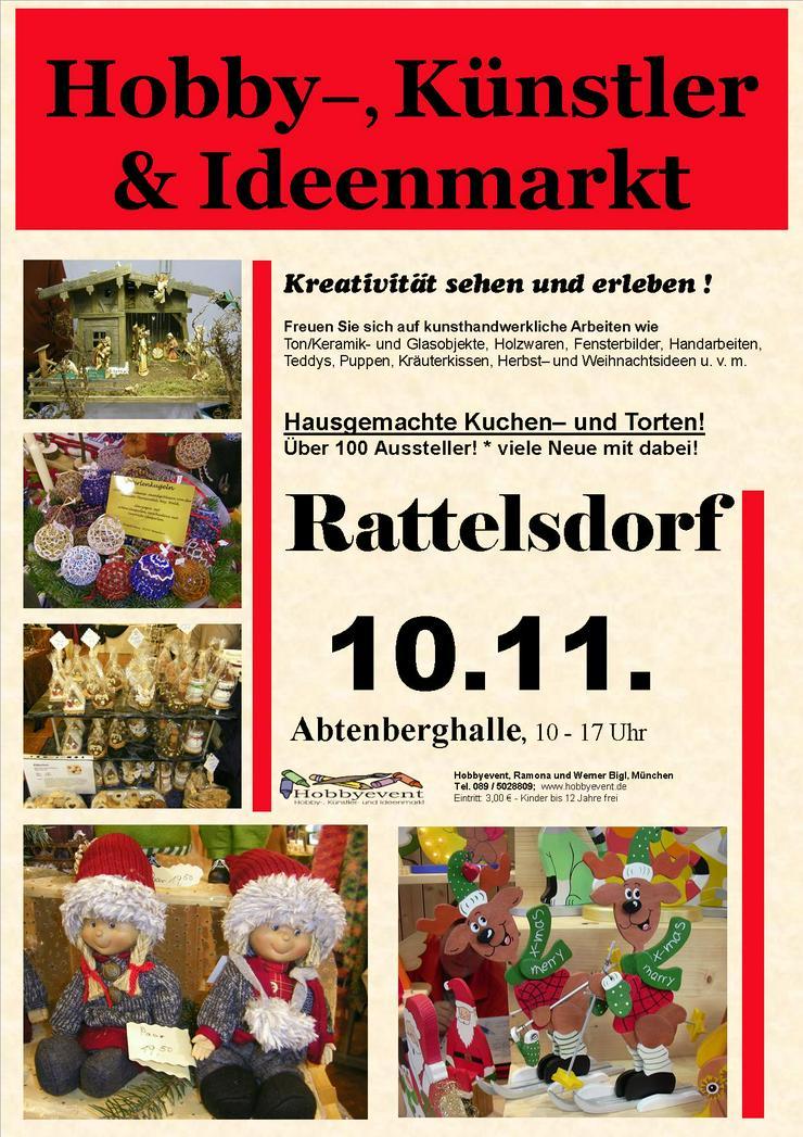 Rattelsdorfer Hobby-, Künstler- und Ideenmarkt am 10.11.19 - Märkte & Messen - Bild 1
