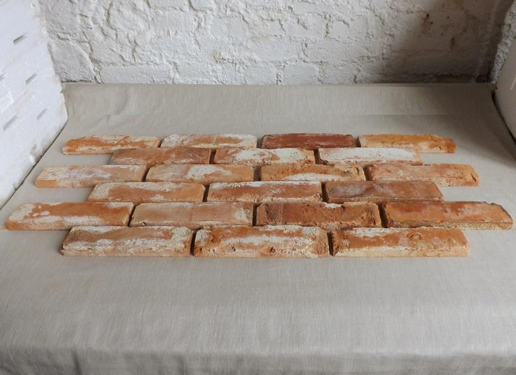 Bild 2: Antikriemchen Steinriemchen wiederverwendeter Mauerstein ökologische Wandgestaltung Wandpanele antik