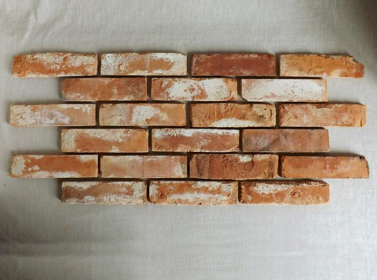 Antikriemchen Steinriemchen wiederverwendeter Mauerstein ökologische Wandgestaltung Wandpanele antik - Fliesen & Stein - Bild 1