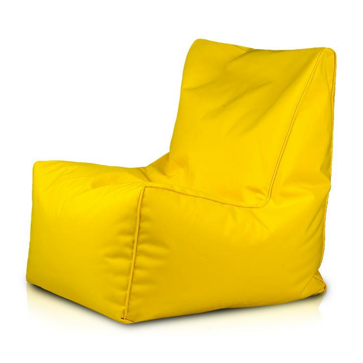 Solid Outdoor Hülle Sitzsack Sessel Sitz Beanbag Beutel 250L Sitzkissen Bezug