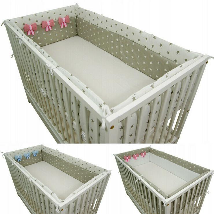 Nestchen 420x30 Bettnestchen Bettschlange Knotenkissen Bettumrandung Babyzimmer
