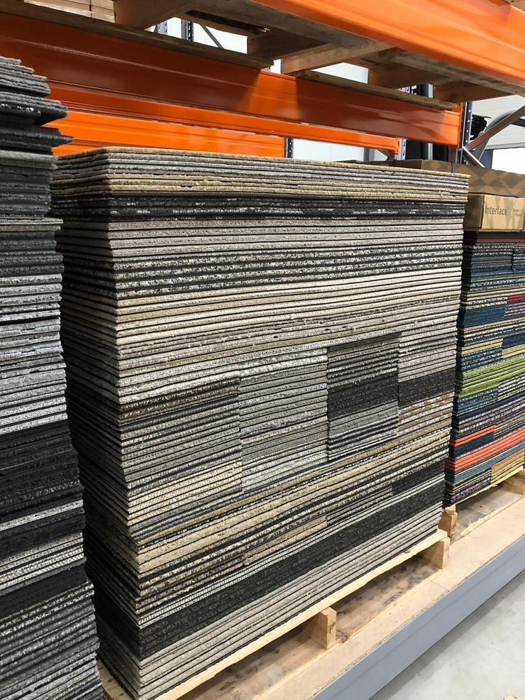 Bild 2: Shades of Brown Skinny Planks 25x100cm Interface Teppichfliesen