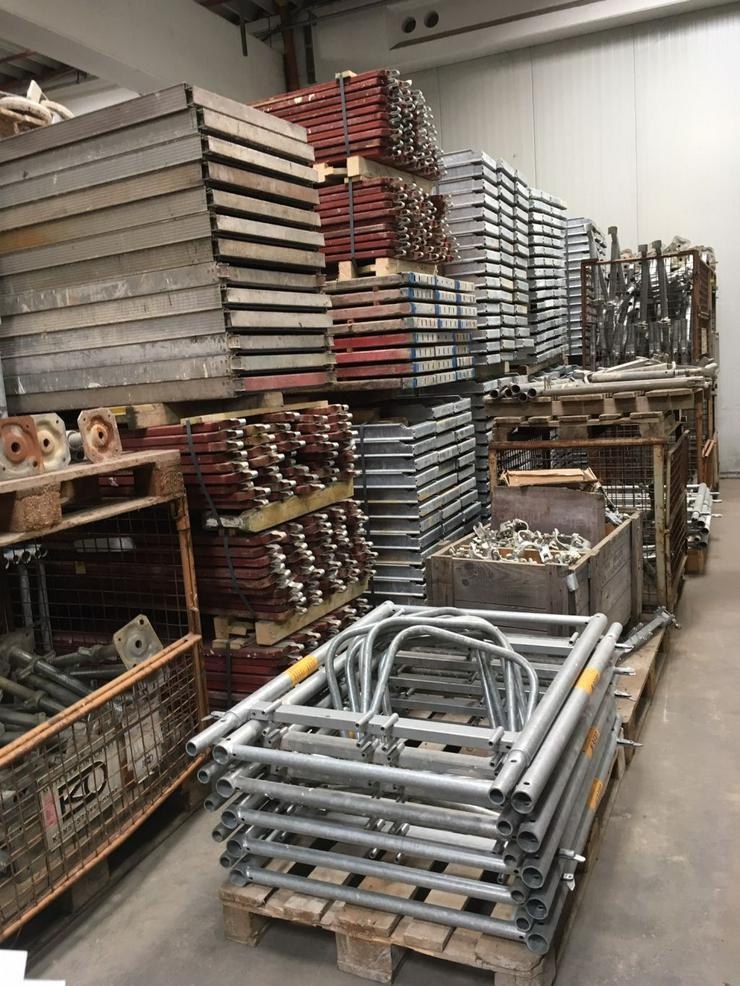 Bild 4: Große Menge MJ Gerüst Uni70 Baugerüst Fassadengerüst Wandgerüst Plettac Assco scaffolding