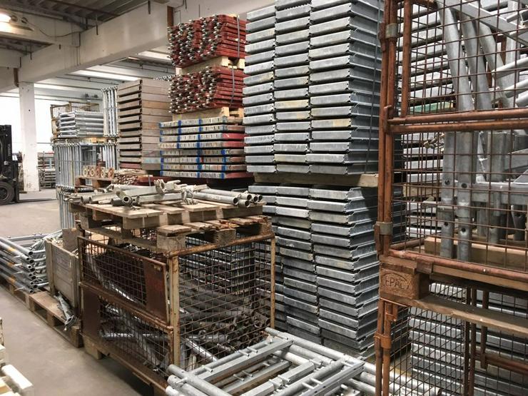 Bild 6: Große Menge MJ Gerüst Uni70 Baugerüst Fassadengerüst Wandgerüst Plettac Assco scaffolding