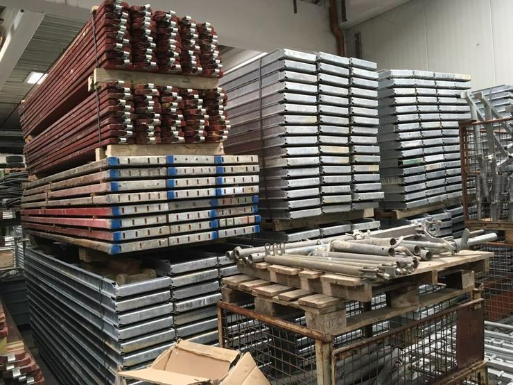 Bild 5: Große Menge MJ Gerüst Uni70 Baugerüst Fassadengerüst Wandgerüst Plettac Assco scaffolding