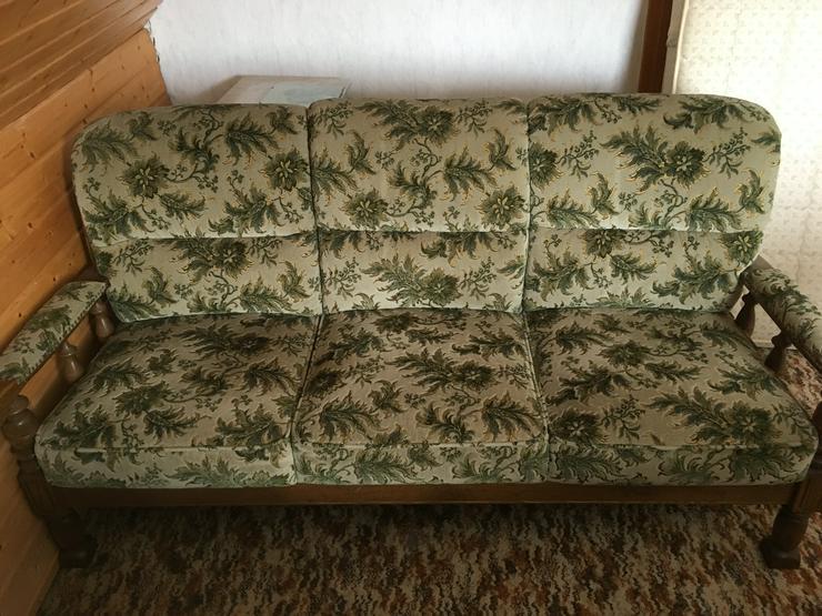 Sitzgarnitur, 3-Sitzer-Sofa, 2 Sessel - Bild 1