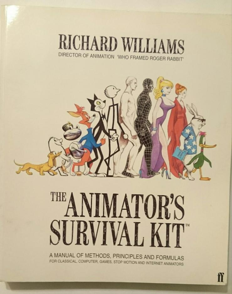ANIMATOR'S SURVIVAL KIT Animation Trickfilm Tutorial 3D 2D Richard Williams (Roger Rabbit)