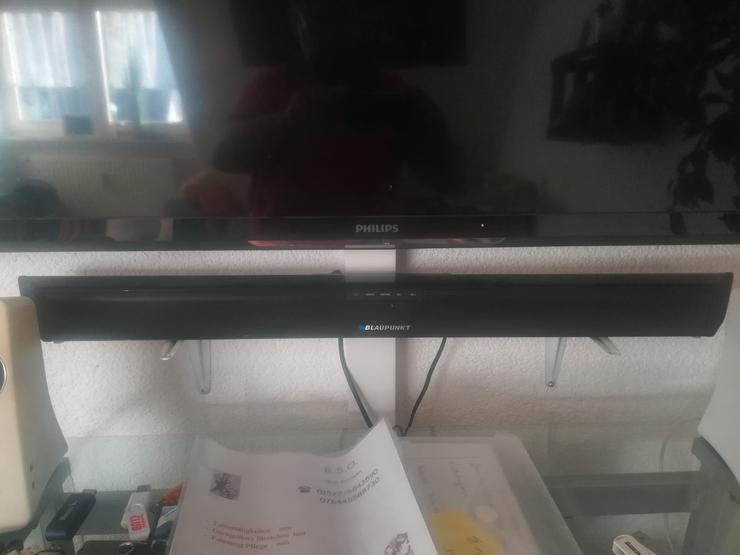 Philips Fernsehr und Soundbar Blaupunkt    120/59