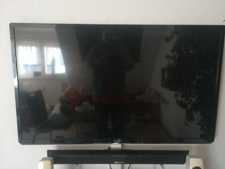 Bild 3: Philips Fernsehr und Soundbar Blaupunkt    120/59