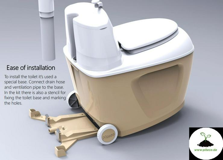 Bild 6: Trockentoilet, Gartentoilette, Komposttoilette, Toilettes, WC