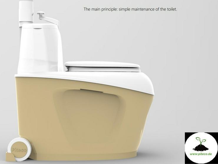 Bild 3: Trockentoilet, Gartentoilette, Komposttoilette, Toilettes, WC