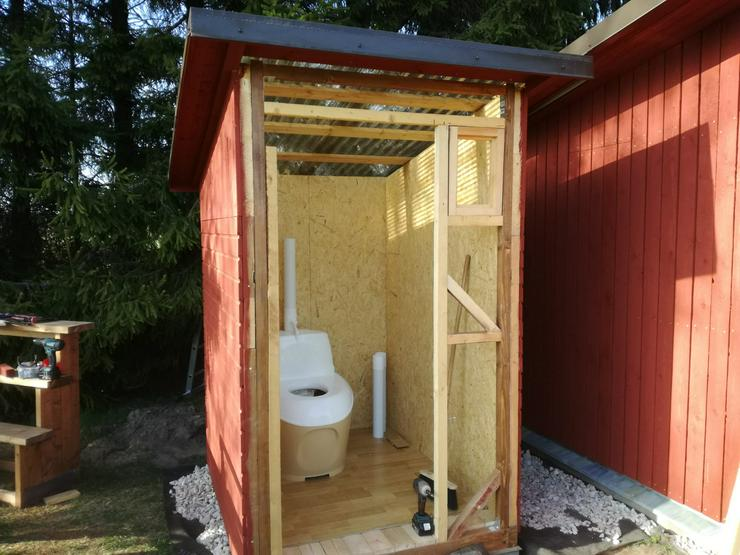 Bild 2: Trockentoilet, Gartentoilette, Komposttoilette, Toilettes, WC