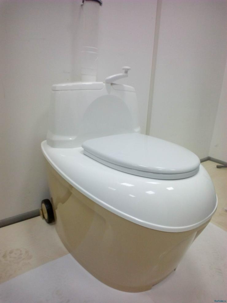 Bild 4: Trockentoilet, Gartentoilette, Komposttoilette, Toilettes, WC