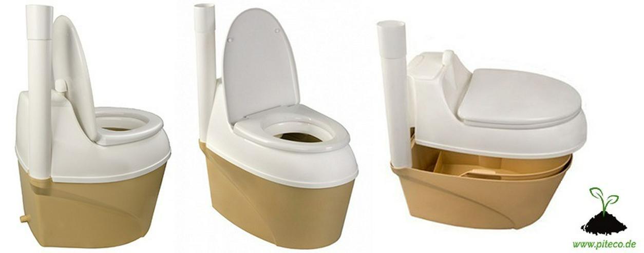 Bild 2: Torf Toilette, Gartentoilette, Komposttoilette, Trockentoilette
