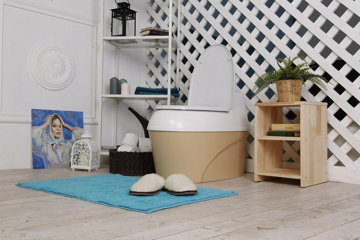 Torf Toilette, Gartentoilette, Komposttoilette, Trockentoilette