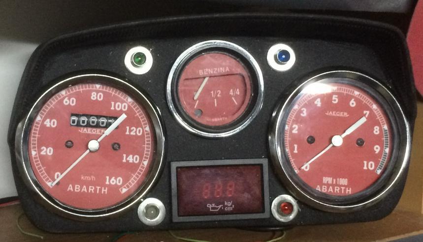 cockpit abarth 595 modL - Armaturen, Konsolen & Fächer - Bild 1