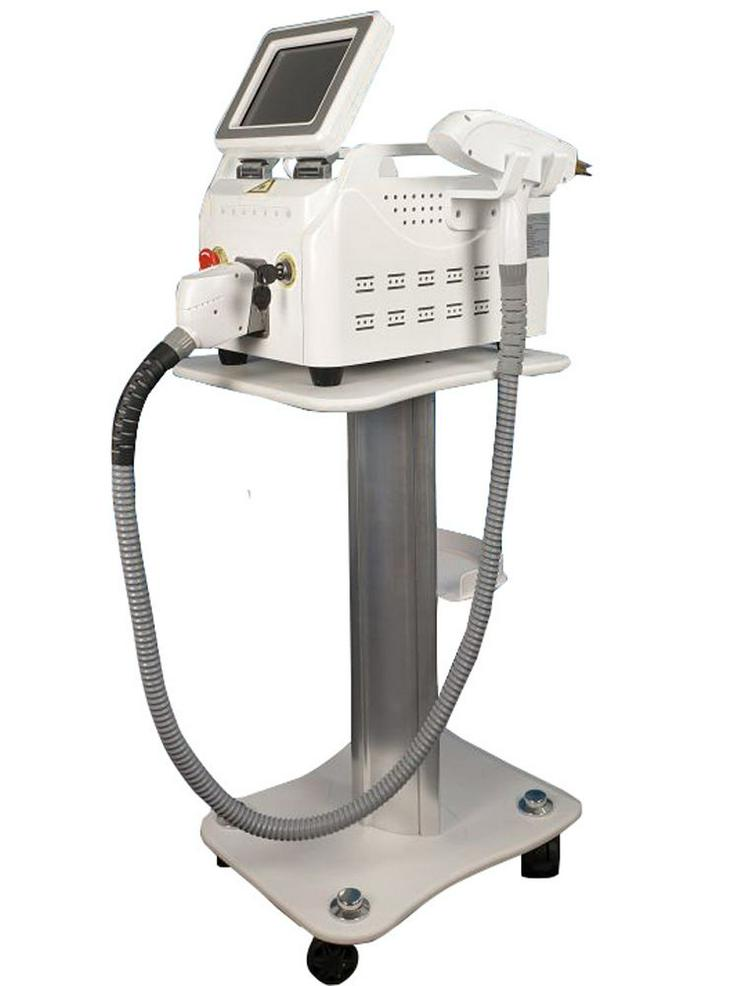 Bild 4: Q-switch Nd YAG Laser Gerät-Tattoo Entferner und 3 Filter / Wellenlängen