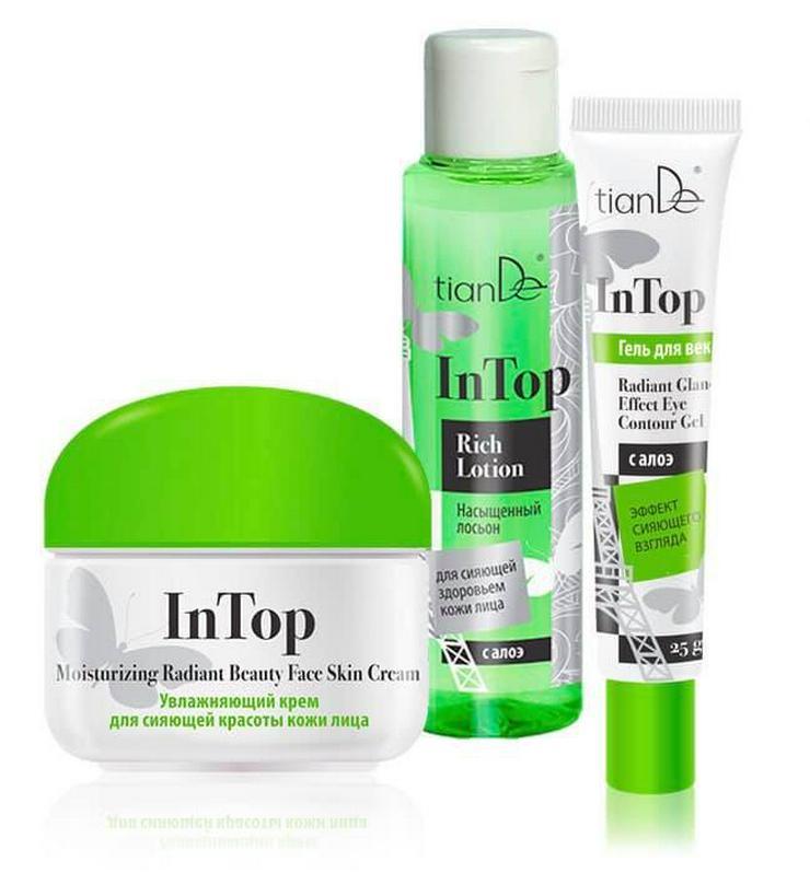 In Top - Gesichtspflegeserie für fettige- und Mischhaut- tianDE Naturkosmetik  - Cremes, Pflege & Reinigung - Bild 1